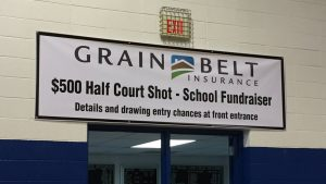 Grain Belt insurance half court shot