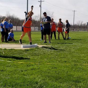 Sweat track meet at Wathens