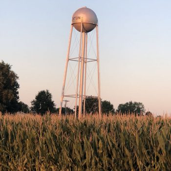 Denton water tower